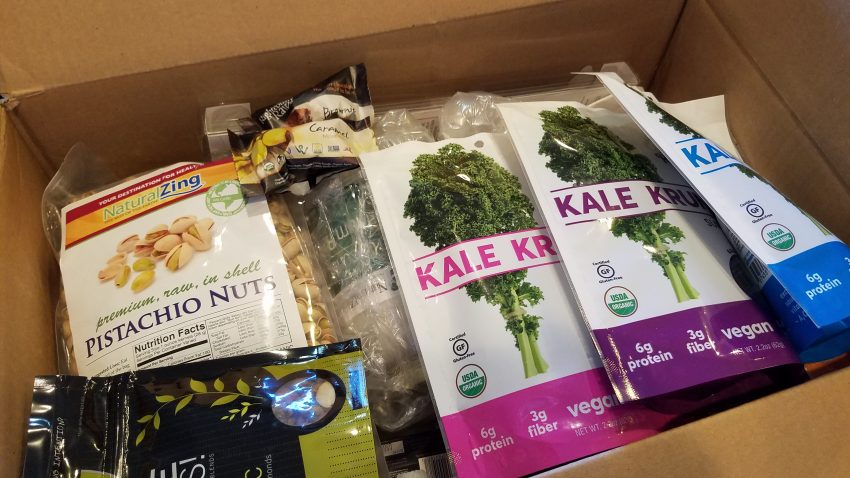 Raw Vegan Packaged Foods