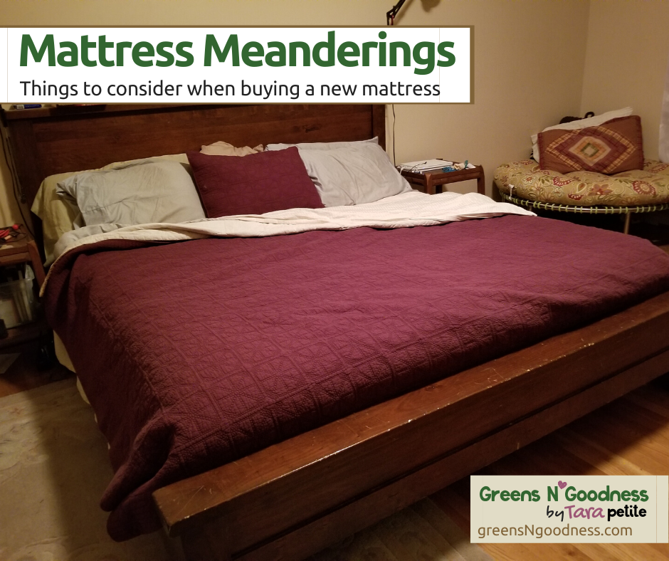 buying a healthy mattress
