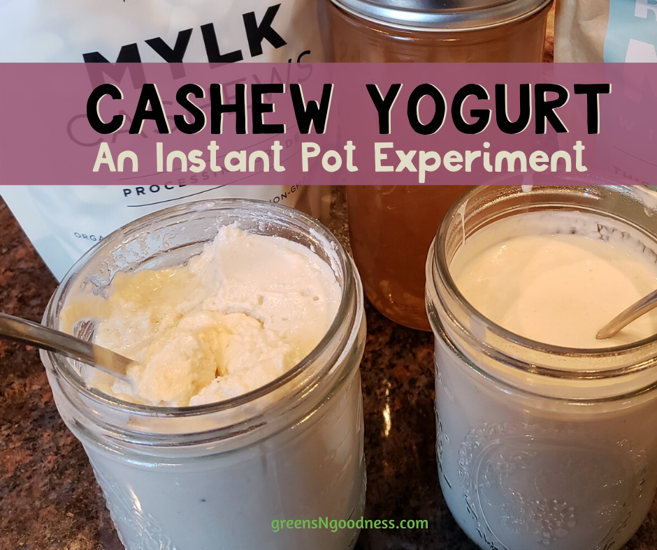 cashew vegan yogurt instant pot