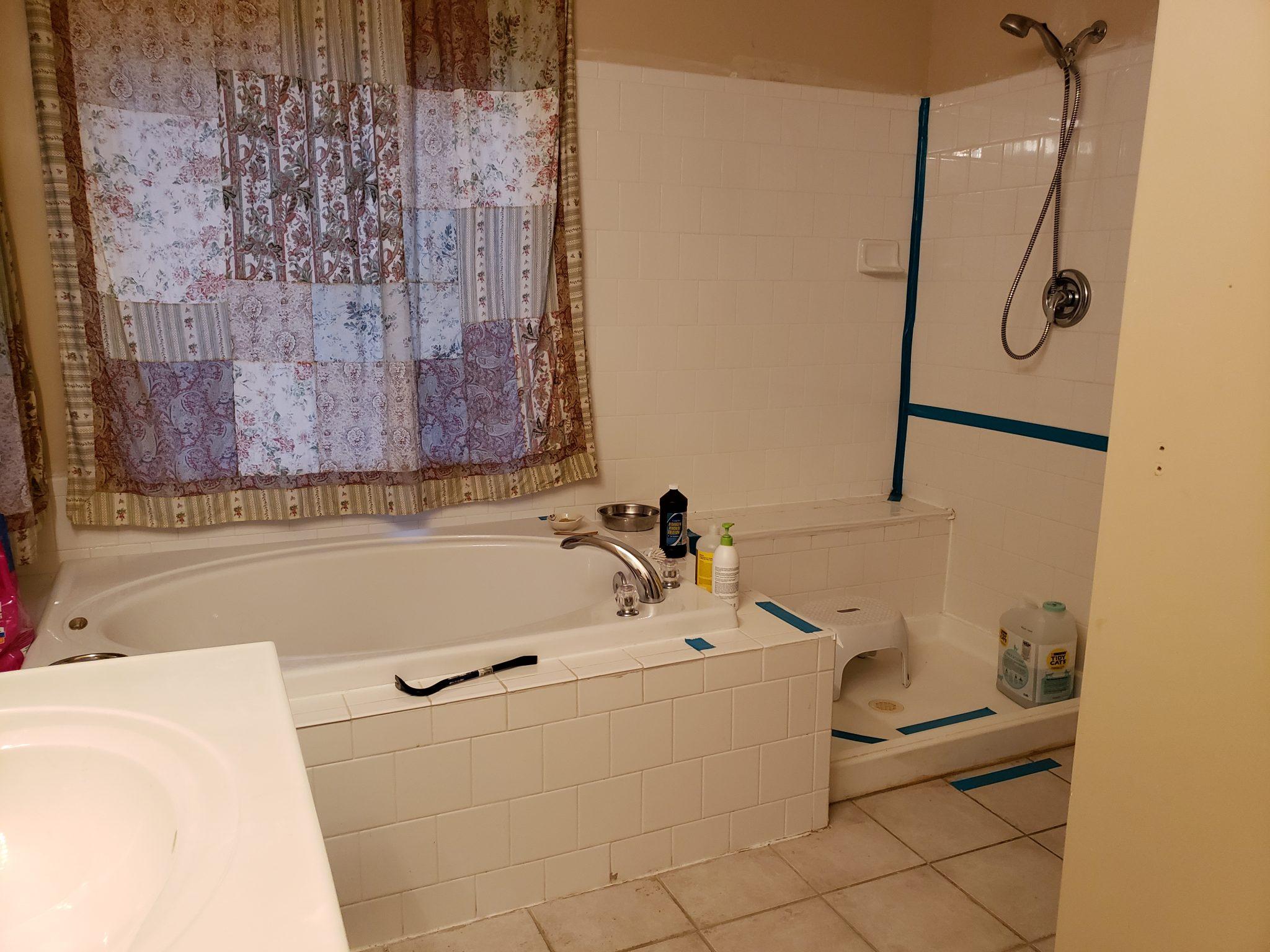 DIY Bathroom Remodel - GreensNGoodness.com